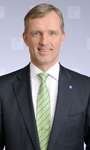 Dr. Wolfram v. Fritsch  Vorsitzender des Vorstandes der Deutschen Messe, Hannover.  Chairman of the Board of Deutsche Messe, Hannover, Germany.