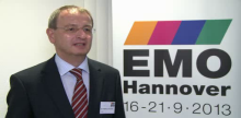 Executive Director of the VDW The German Machine Tool Builders' Association – which organizes the EMO show