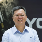 Yeong Chin Machinery Industries Co. Ltd,  Po-Yang Chen