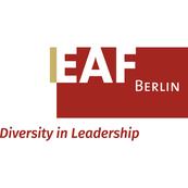 Logo EAF Berlin. Diversity in Leadership