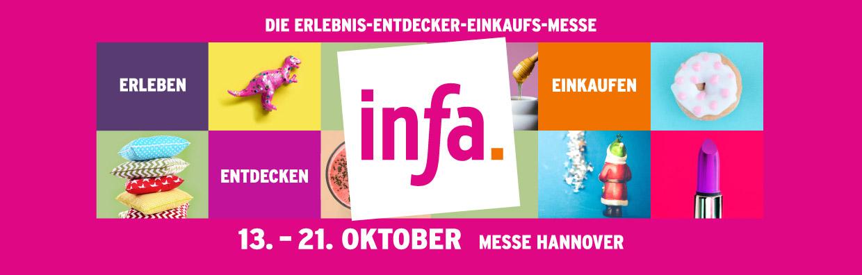 infa. 13. - 21. Okt. 2018, Messe Hannover