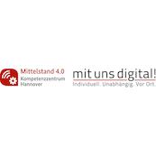 Logo Mit uns digital! - Mittelstand 4.0-Kompetenzzentrum Hannover