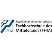 Logo FHM, Hochschule des Mittelstands