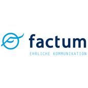 Logo factum Presse und Öffentlichkeitsarbeit