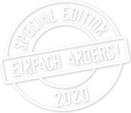 Special Edition 2020 - Einfach anders!