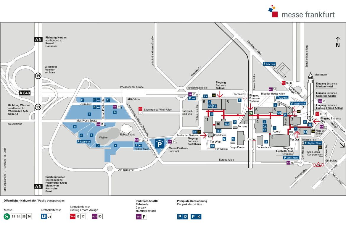 Id Frankfurt Für Besucher Informationen Anreise