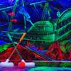 NeonGolf – Schwarzlicht Minigolf Hannover